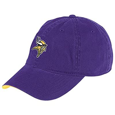 NFL Reebok Minnesota Vikings Purple Basic Logo Slouch Hat
