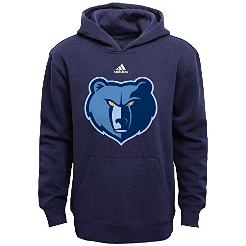 fan products of NBA Youth Boys 8-20 Memphis Grizzlies Primary Logo Fleece-Dark Navy-L(14-16)
