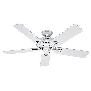 Amazon hunter fan company 53103 the savoy 52 inch ceiling fan hunter fan company 53103 the savoy 52 inch ceiling fan with five whitelight aloadofball Choice Image