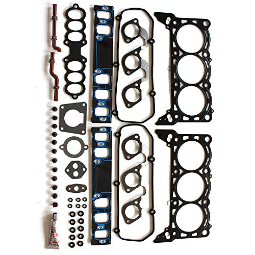 Cougar Mercury Head Cylinder (cciyu Head Gasket Kit Replacement fit Cougar Mercury Mustang Ford Thunderbird HS9262PT 97-98)