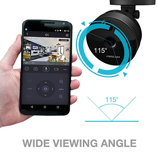 Foscam C1B Wireless High-Definition IP Camera Black