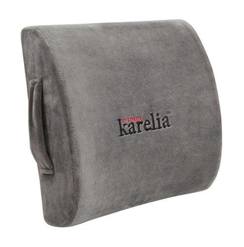 Finnkarelia Memory Foam Lumbar Cushion for Lower Back Pai...