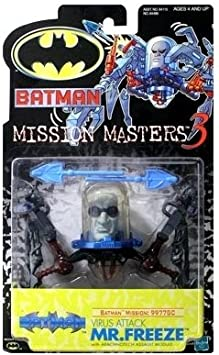 Batman: The New Batman Adventures Mission Masters 3 Virus Attack Mr. Freeze Action Figure by Hasbro Inc: Amazon.es: Juguetes y juegos