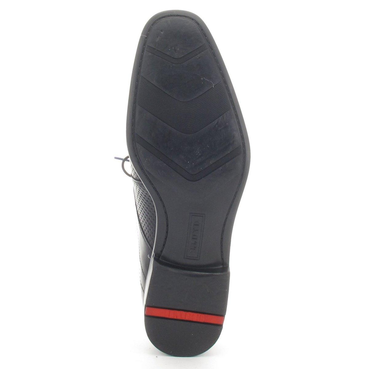 LLOYD Kalbleder 17-049-30 DARION - Business Schnürschuh - Kalbleder LLOYD schwarz - Gummisohle Grau 1a49e0