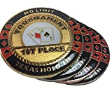 Poker Weight Four Piece Set - Commerative Trophies