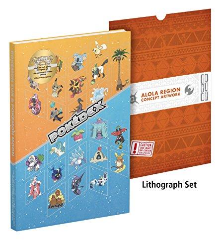 Pokémon Sun and Pokémon Moon: The Official Alola Region Collector's Edition Pokédex & Postgame Adventure Guide