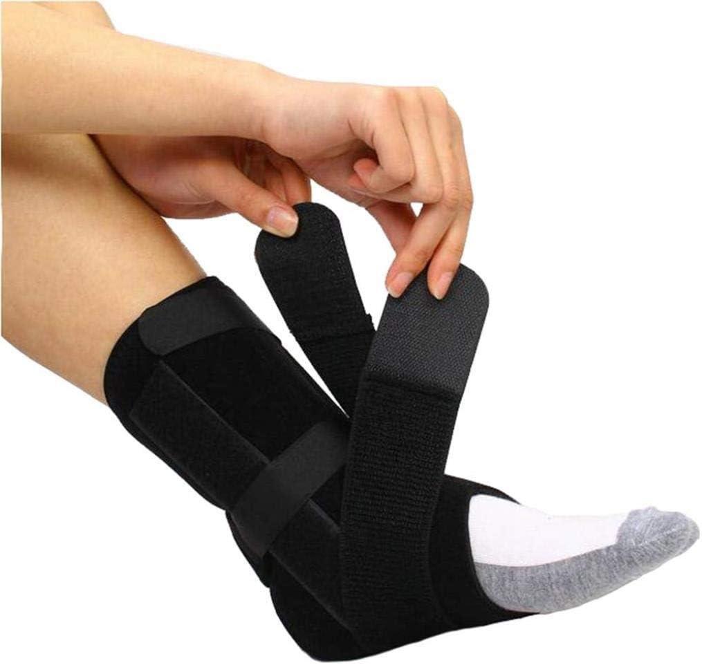 ZUCAI Caída de pie: Soporte for caída de pie, lesión de Nervios, posición del pie, Alivio de la presión, Tobillo y órtesis de pie: Unisex (Size : L)
