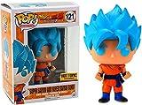 2016 Funko POP! Dragon Ball Z Resurrection 'F' Hot Topic Exclusive #121 - Super Saiyan God Super Saiyan Goku