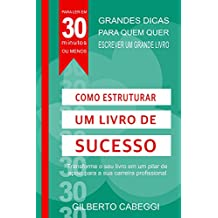 Como Estruturar um Livro de Sucesso: Transforme o seu livro em um pilar de apoio para a sua carreira profissional (Para Ler Em 30 Minutos Ou Menos: Livro 2)
