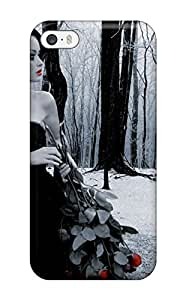 Art Marie Johnson Snap On Hard Case Cover Gothic Protector For Iphone 5/5s