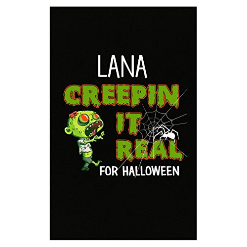 Prints Express Lana Creepin It Real Funny Halloween Costume Gift - Poster