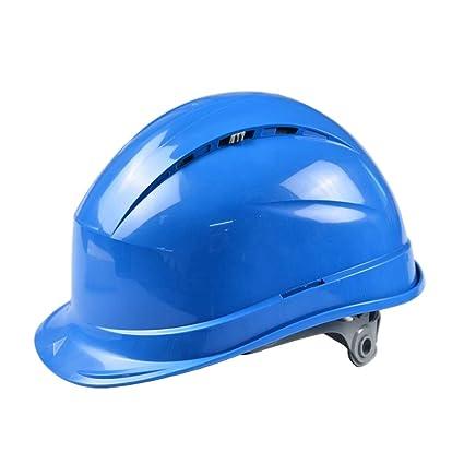 Mingteng Casco de Seguridad por - Casco de construcción Ajustable con respiraderos Keep Cool