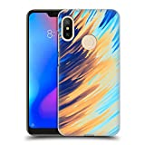 Official Andi Greyscale Two Sides of One Extreme Abstract Marbling Hard Back Case Compatible for Xiaomi Mi A2 Lite/Redmi 6 Pro