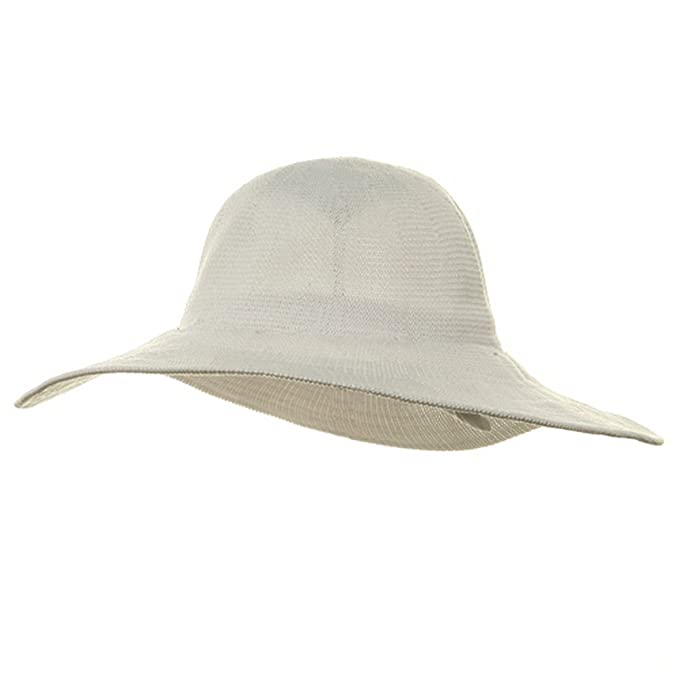 Amazon.com  MinLee Star Vivian Knitted ML Wide Brim Hat - White  Clothing 1a9f8bbf1a9