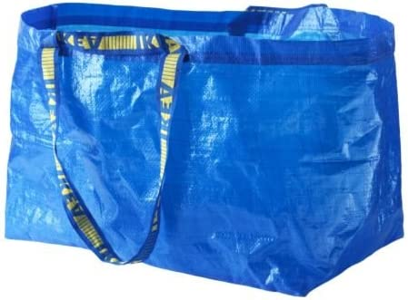 Ikea 172.283.40 Frakta Shopping Bag, Large, Blue, Set of 5: Amazon.ae