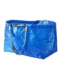 IKEA 172.283.40Frakta bolsa de la compra, grande, azul, juego de 5