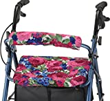 NOVA Rollator Walker Seat & Back Cover, English Garden