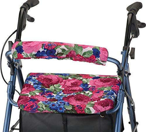 Nova Backrest and Seat Cover, 14 Inch, English Garden, 1 ea