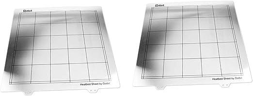 Homyl Plataforma De Impresora 3D Ultra Base 2Pcs con Cama De Calor ...