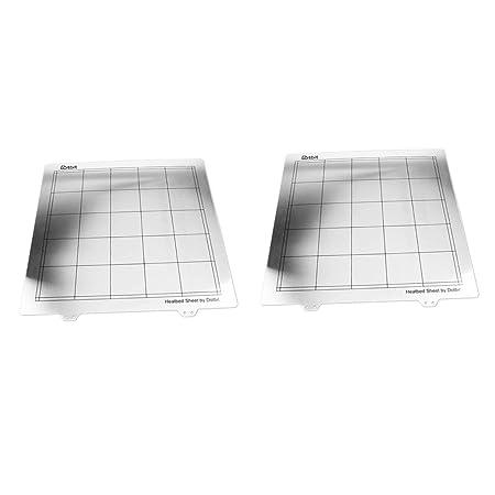 Homyl Plataforma De Impresora 3D Ultra Base 2Pcs con Cama De ...