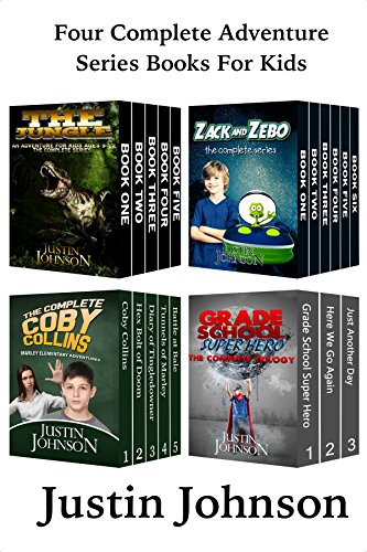 Kids Adventure Series Book (Books for Kids: Four Fantasy Adventures Box Set For Kids: Kids Fantasy Books, Kids Mystery Books, Kids Adventure Books, Kids Series Books, Kids Chapter Books for Ages 6-8, 8-10, 9-12)