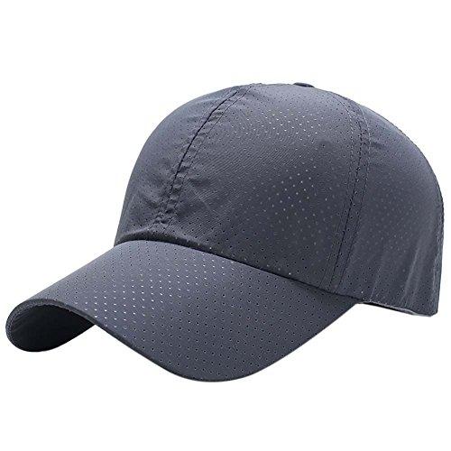 c17684c3a25 Reefa Summer Running Hat Baseball Cap Ultra Thin Mesh Quick Dry Lightweight  Sun Hat Running Cap Fishing Cap - Buy Online in Oman.