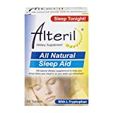 Alteril All Natural Sleep Aid, 60 Tablets Per Box (5 Boxes)
