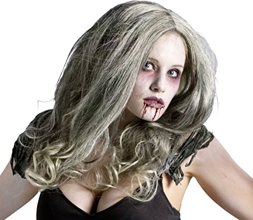 Zombie Queen Wig Costume Accessory]()