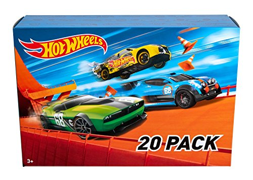 Toys for Boys - Hot Wheels 20 Car Gift Pack - Styles May Vary