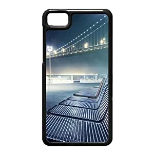 Black Berry Z10 Case,Bridge Lounge Chair High Definition Wonderful Design Cover With Hign Quality Hard Plastic Protection Case