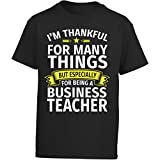 Eternally Gifted Happy Teacher - Thankful For Being A Business Teacher - Girl Kids T-Shirt