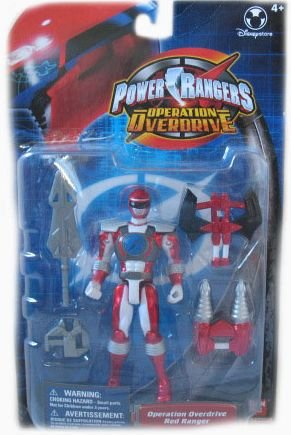 Power Ranger Operation Over-Drive Exclusive Red Ranger Action