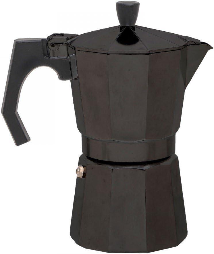 Negro One Size Relags Uni Espresso Maker Bell anapoli 9T Tetera