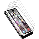 LK [3 Pack] iPhone 6 Plus/iPhone 6S Plus Screen Protector, [Tempered Glass][Case Friendly] DoubleDefence Technology [Alignment Frame Easy Installation] [3D Touch] Lifetime Replacement Warranty