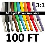 """1/2"""" Heat Shrink Tubing 3:1 - 100FT (White)"""