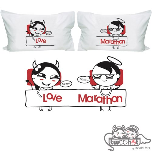 Funny Married Couple Costumes (BoldLoft Craving for You Funny Couple Pillowcases- Naughty Wedding Gifts, Novelty Bachelorette Gifts, Naughty Bridal Gifts, Funny Bridal Shower Gifts, Honeymoon Gifts, Gag Gifts for Couples)