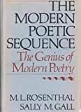 The Modern Poetic Sequence, Macha L. Rosenthal and Sally M. Gall, 0195031709