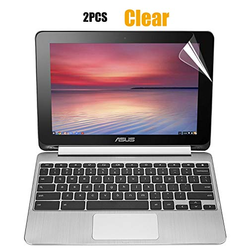 CaseBuy [2PCS Pack] ASUS Chromebook Flip 10.1 Inch Screen Protector Ultra Clear Glossy for ASUS C100 C100PA C100PA-DB02 Chromebook Flip 10.1 Convertible Touchscreen(2 Pieces/Pack)