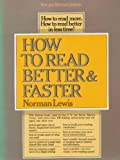 How to Read Better and Faster, Lewis, Norman, 0690015283