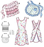 Kwik Sew K3518 Aprons Sewing Pattern, Size View A