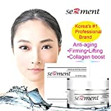 Korean Cosmetics Serment Peptide Anti Aging Cream with 17 Amino Compounds and 3 Peptides Skin Lifting and Wrinkle Remover For Sale