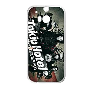 Printed Cover Protector HTC One M8 Cell Phone Case White Tokio Hotel Xpklb Unique Design Cases