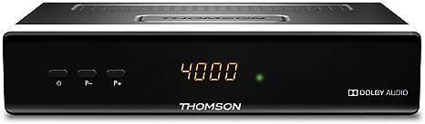 Thomson THS222 HD DVB-S2 Digital Receptor de TV: Amazon.es: Electrónica