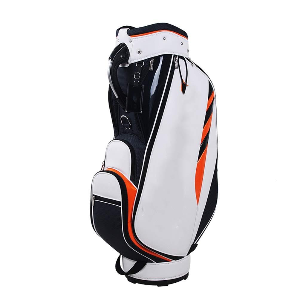 男性とゴルフバッグキューバッグ標準大容量ライトポータブル   B07PH6DL47