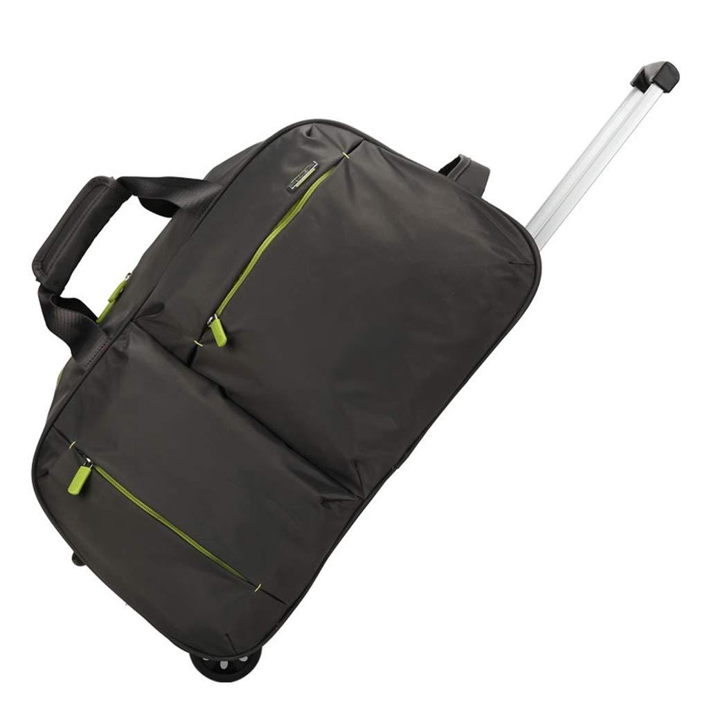 手荷物パッケージ、学生の手荷物パッケージの本の文房具の収納箱の携帯用トロリー袋2つのジッパーの外のポケット (色 : #6) B07S8CF3WM