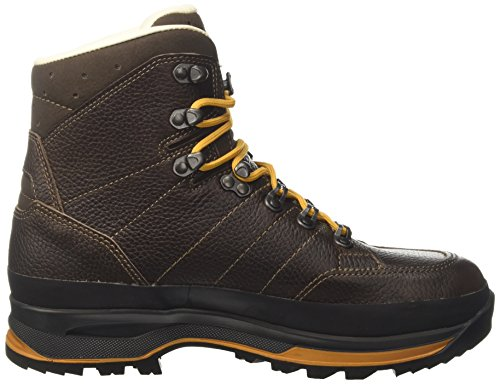 Iowa Uomini Trekker Trekking E Hiking Boots Brown (marrone Scuro / Senape 4344)