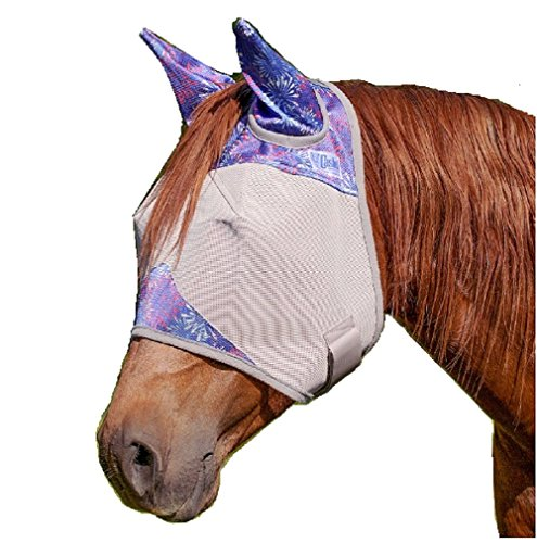 Quiet Ride Fly Mask - 7
