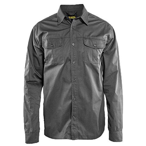 Blaklader 329811909400XXXL Long Sleeves Twill Shirt 3X-Large Grey