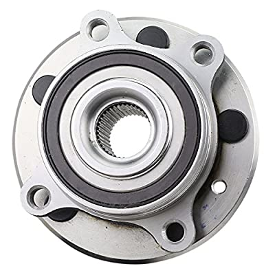 NT513275 Wheel Bearing Hub Assembly, 1 Piece, Front (Rear) Left/Right, for 2013-16 Ford Police Interceptor Sedan/ 10-16 Taurus/ 09-16 Flex/ 11-15 Edge/ 09-16 Mks/ 11-15 Mkx, FWD/AWD, w/ABS: Automotive