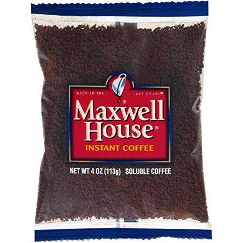 Maxwell House Instant Coffee (4 oz Bags, Pack of 24)